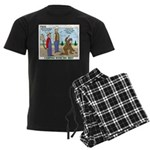 Daniel Boone Men's Dark Pajamas