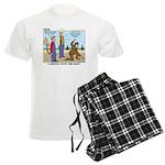 Daniel Boone Men's Light Pajamas