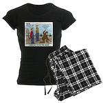 Daniel Boone Women's Dark Pajamas
