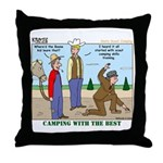 Daniel Boone Throw Pillow
