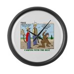Daniel Boone Large Wall Clock