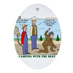 Daniel Boone Ornament (Oval)