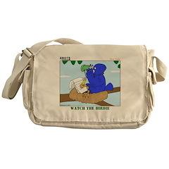 Bird Study Messenger Bag