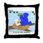 Bird Study Throw Pillow