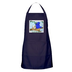 Bird Study Apron (dark)