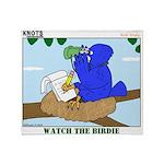 Bird Study Throw Blanket