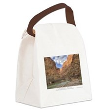 Grand Canyon CO River Canvas Lunch Bag