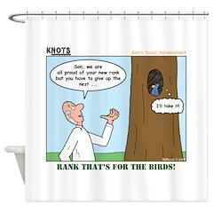 Eagle's Nest Shower Curtain