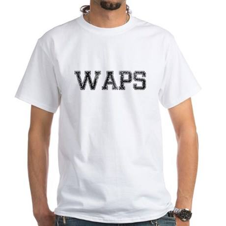 WAPS, Vintage White T-Shirt