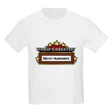 World's Greatest Store Manager T-Shirt