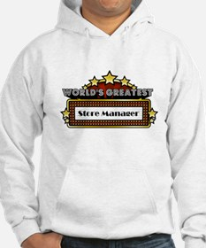 World's Greatest Store Manager Hoodie