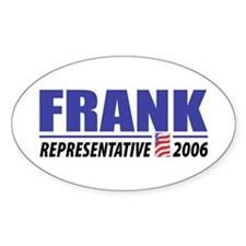 Frank 2006 Oval Decal
