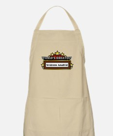 World's Greatest Systems Analyst Apron