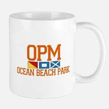 Ocean Beach Park CT - Nautical Design. Mug