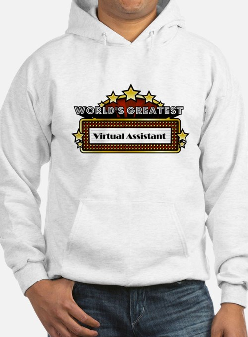 World's Greatest Virtual Assistant Hoodie