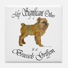 Brussels Significant Other Tile Coaster