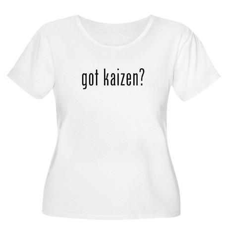 Got Kaizen? Women's Plus Size Scoop Neck T-Shirt