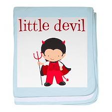 Little Devil Baby Blanket