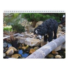 PWD - Portuguese Water Dog Wall Calendar