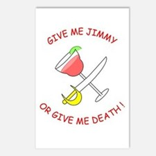 """""""Give Me Jimmy..."""" Postcards (Package of 8)"""