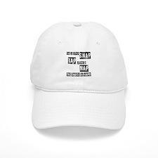 Snap, Tap, or Nap Baseball Cap