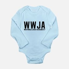 WWJA? Long Sleeve Infant Bodysuit