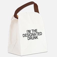Designated Drunk Canvas Lunch Bag