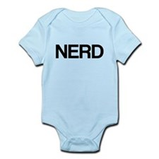 Nerd, Typography Infant Bodysuit