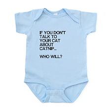 Funny, Catnip, Infant Bodysuit
