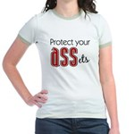 Protect Your ASSets Jr. Ringer T-Shirt