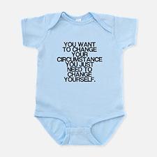 Inspiring, Change Yourself, Infant Bodysuit