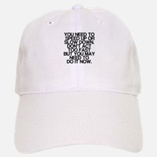 Confusing Advice, Funny, Baseball Baseball Cap