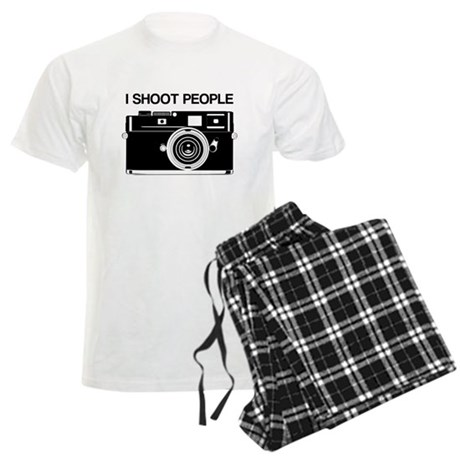 Photographer, I shoot people, Men's Light Pajamas