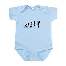 Evolved To Golf Infant Bodysuit