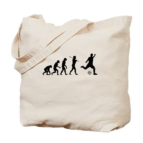Soccer, Evolved To Play, Tote Bag