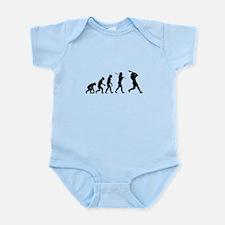 Baseball, Evolved To Swing, Infant Bodysuit