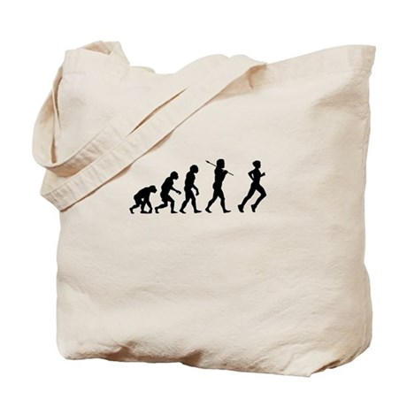 Evolved To Run Tote Bag
