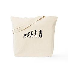 Golf Evolution Tote Bag