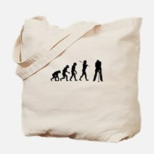 Golf Evolution Tote Bag