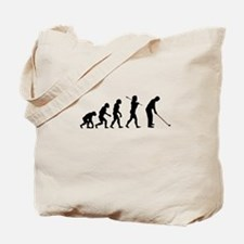 Golfer Evolution Tote Bag