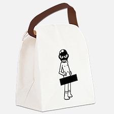 Censored Gimp Canvas Lunch Bag