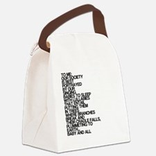 Lullabies, Funny, Canvas Lunch Bag