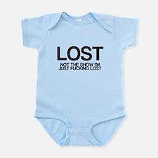 LOST, not the show, vulgar joke Infant Bodysuit