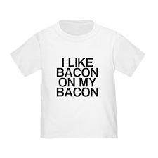 I Like Bacon on my Bacon T