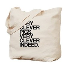 Very Clever Pigs, Very Clever Indeed Tote Bag