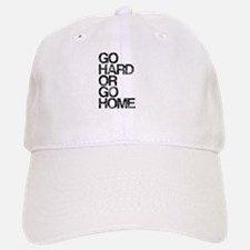 Go Hard or Go Home, Aged, Baseball Baseball Cap