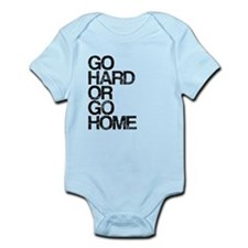 Go Hard or Go Home, Aged, Infant Bodysuit