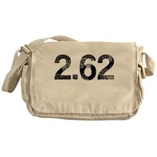 2.62, Marathon Parody, Aged Messenger Bag