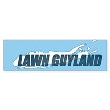 Lawn Guyland - Bumper Bumper Sticker