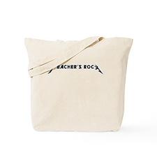 Teachers Rock Tote Bag